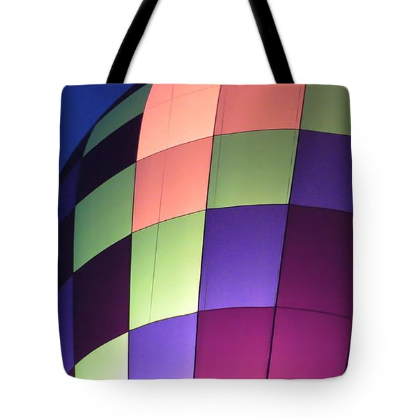 Tote Bag featuring the digital art Air Balloon by Kathleen Illes