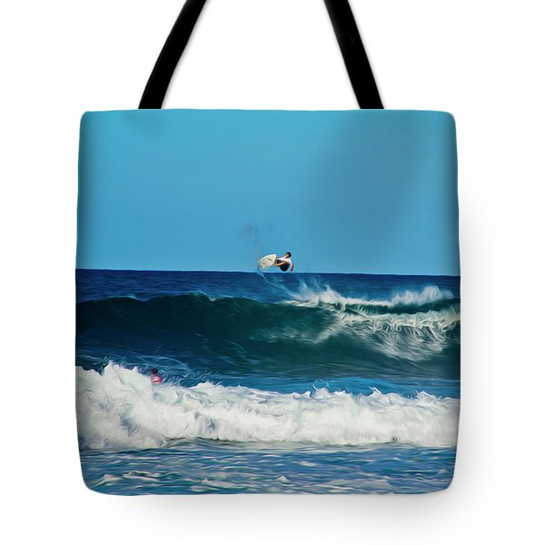 Air Bourne Tote Bag