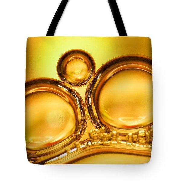 Air Bubbles Tote Bag