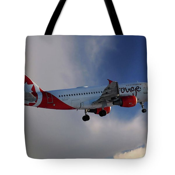 Air Canada Rouge Airbus A319-114 Tote Bag