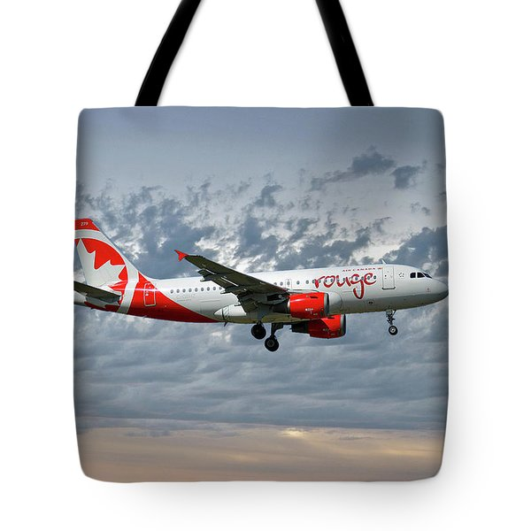 Air Canada Rouge Airbus A319-114 Tote Bag
