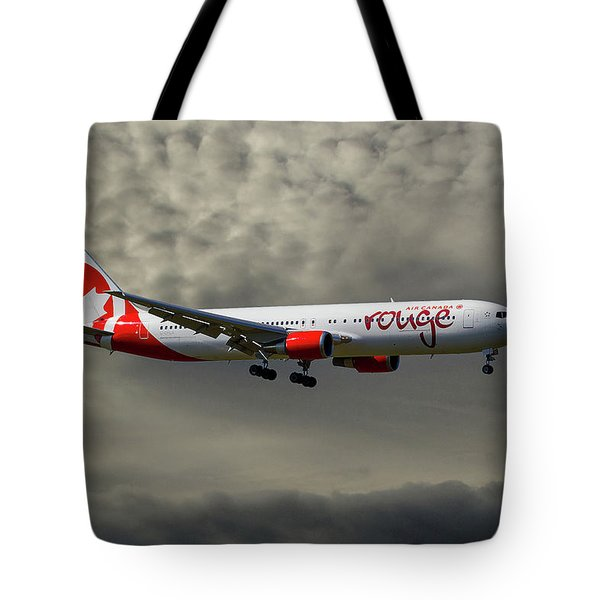 Air Canada Rouge Boeing 767-35h Tote Bag