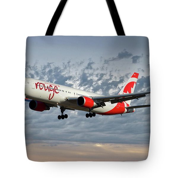 Air Canada Rouge Boeing 767-333 113 Tote Bag