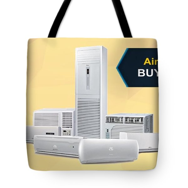 Air Conditioner Buying Guide Tote Bag