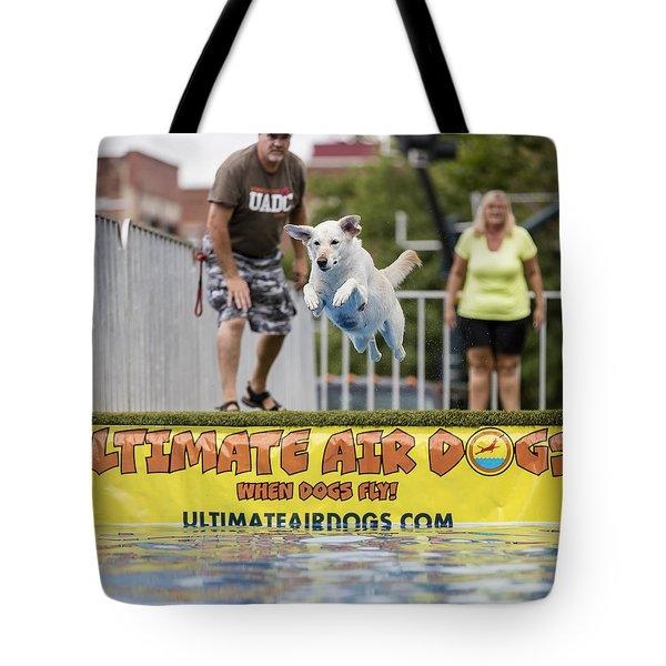 Air Dog 4 Tote Bag