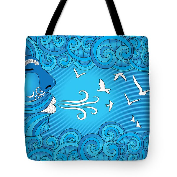 Air Element Tote Bag by Serena King