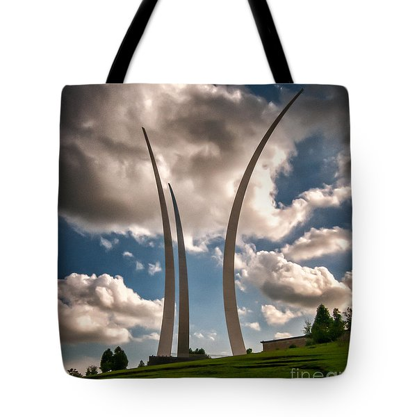 Air Force Memorial Tote Bag by Jim Moore