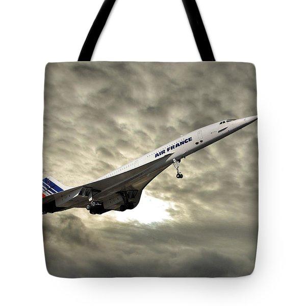 Air France Concorde 115 Tote Bag