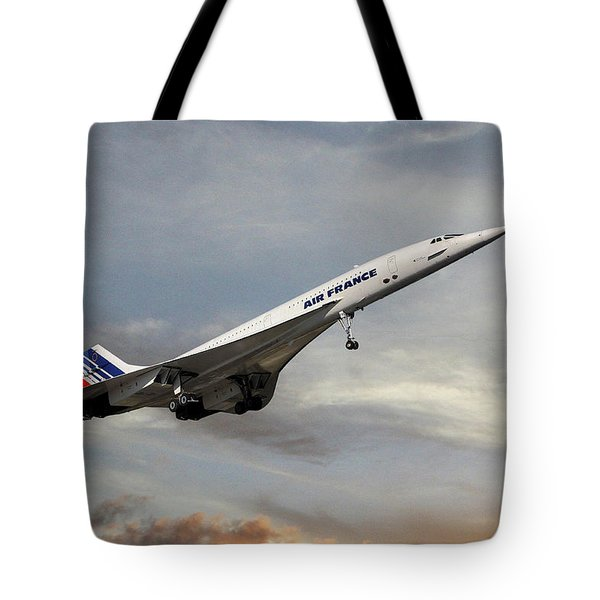 Air France Concorde 122 Tote Bag