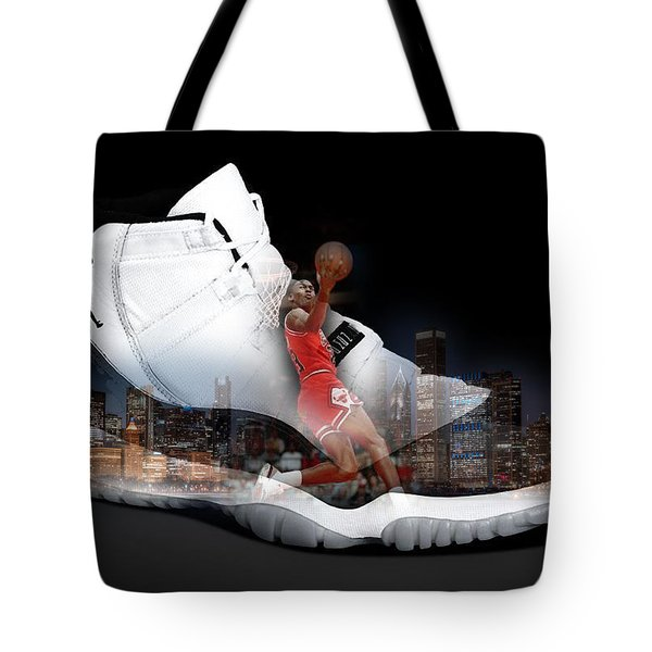 Air Jordan Chicago Tote Bag