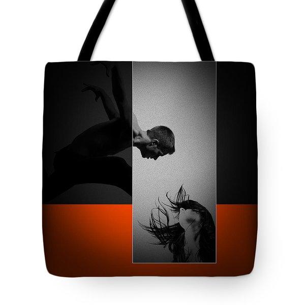 Air Kiss Tote Bag by Naxart Studio