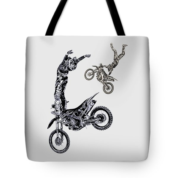 Air Riders Tote Bag by Caitlyn Grasso