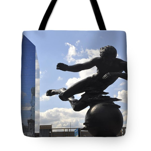 Air Sculpture Tote Bag by Andrew Dinh