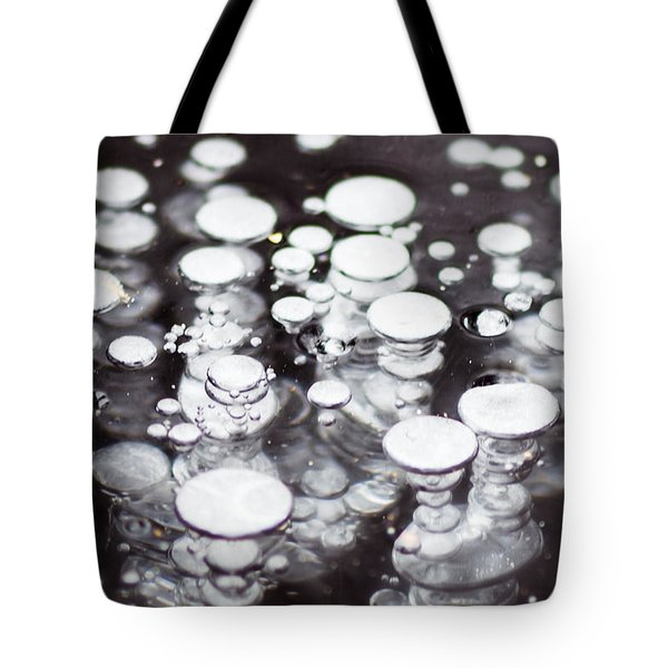 Air Trapped In Ice Tote Bag