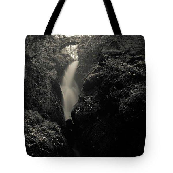 Aira Force - Black And White Tote Bag
