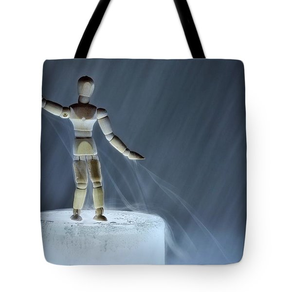Tote Bag featuring the photograph Airbender by Mark Fuller