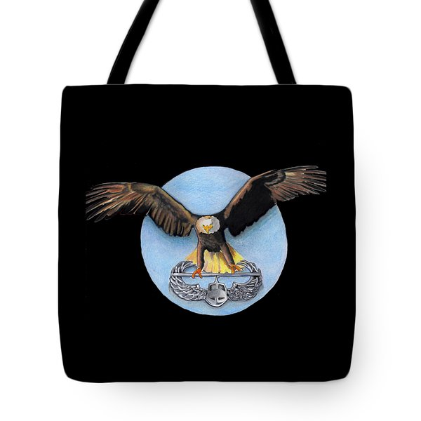 Airborne Tote Bag by Bill Richards