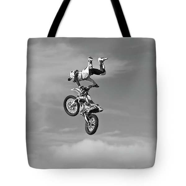Airborne Motorcycle Tote Bag