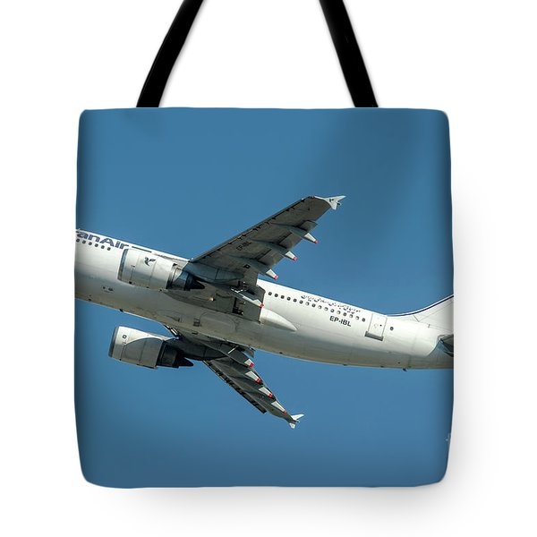 Airbus A310 Departed From Malpensa Airport  Tote Bag