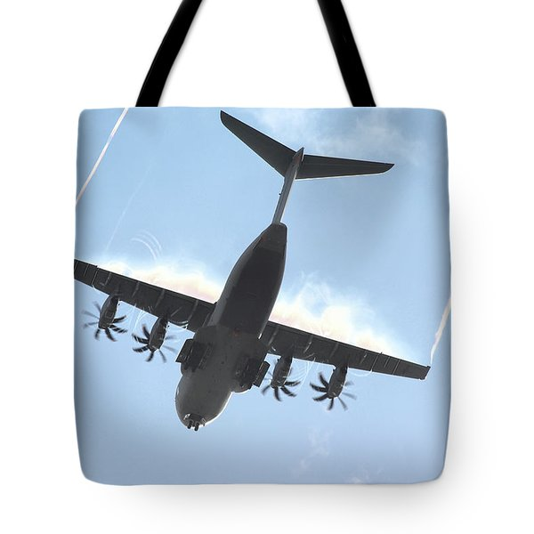 Airbus A400m Tote Bag by Tim Beach