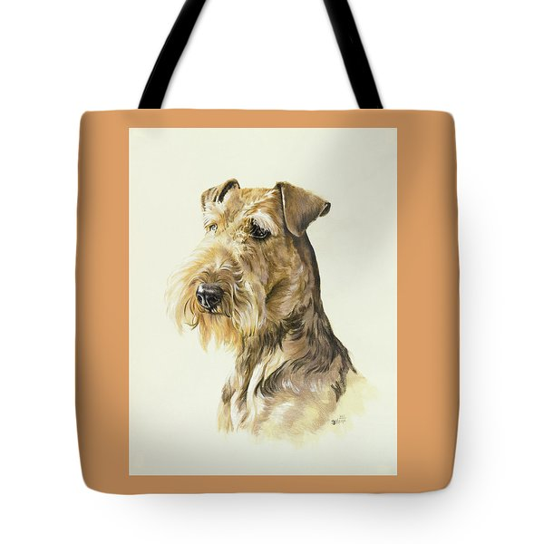 Airedale In Watercolor Tote Bag