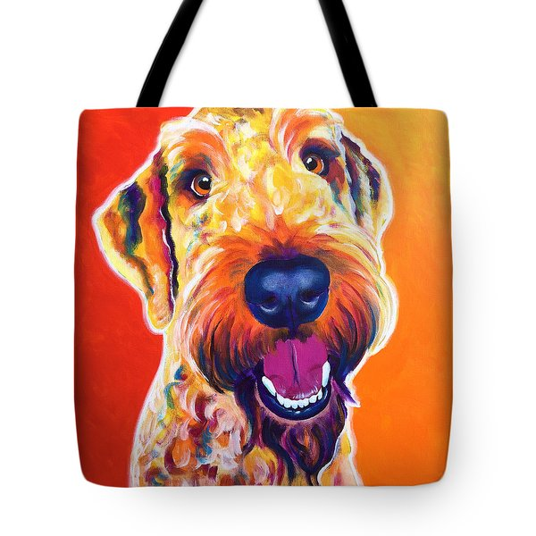 Airedoodle - Hank Tote Bag