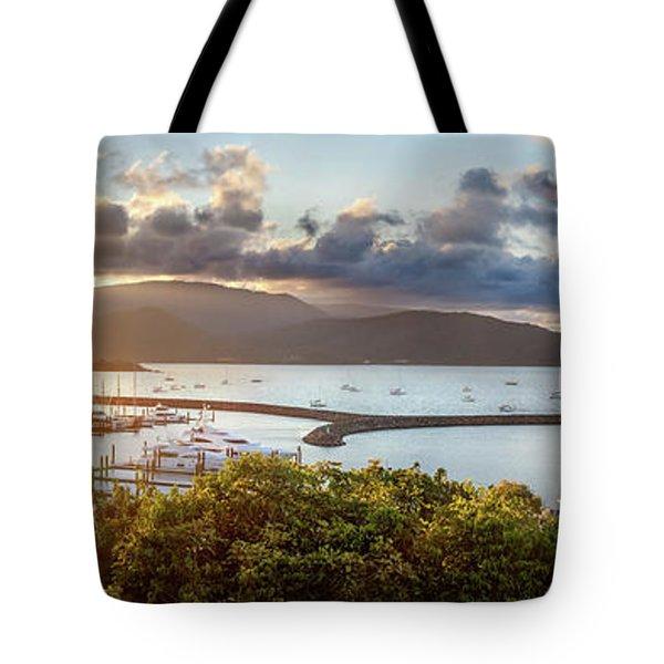 Airlie Beach Marina Tote Bag
