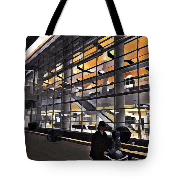 Airport 1.30am Tote Bag