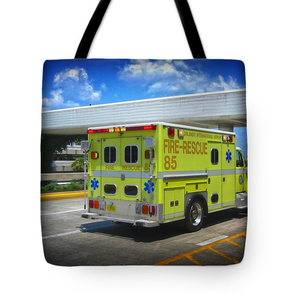 Airport Ambulance Tote Bag