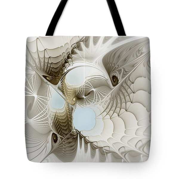 Airy Space2 Tote Bag by Karin Kuhlmann