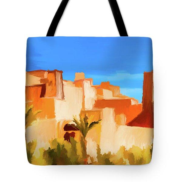 Ait Benhaddou Morocco Tote Bag by Wally Hampton