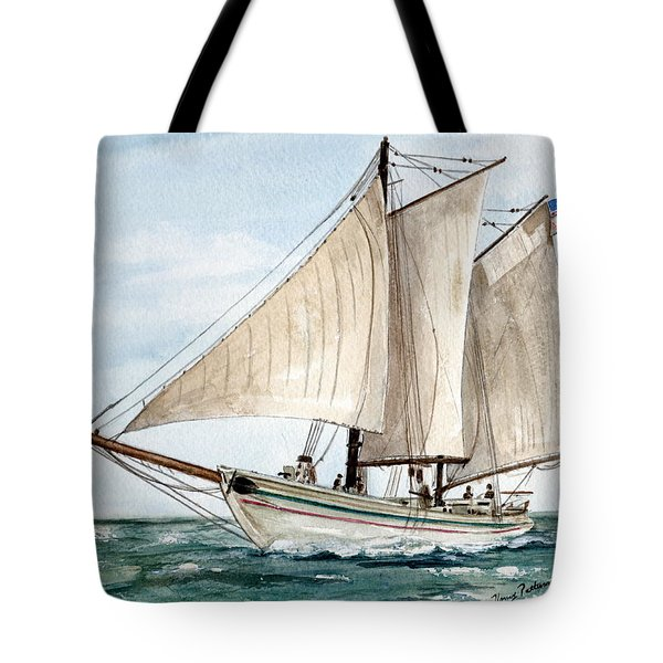 Aj Meerwald  Tote Bag by Nancy Patterson