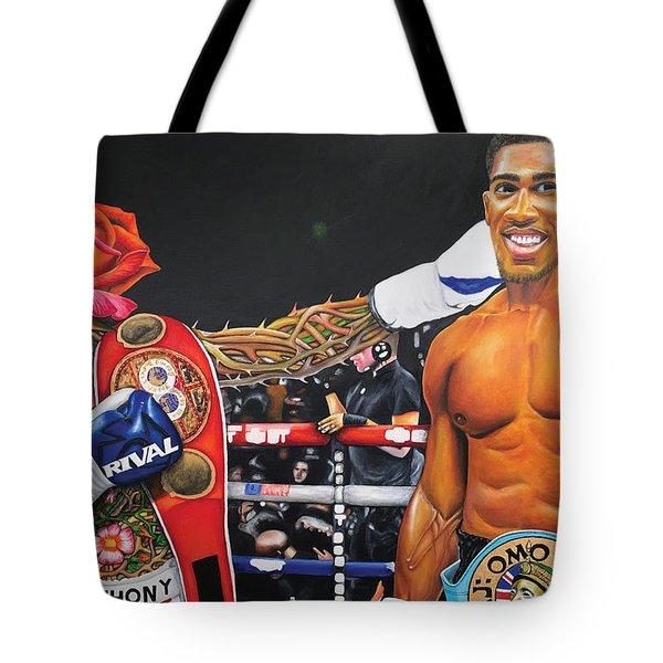 Aj Omo Oduduwa The World Champion Tote Bag