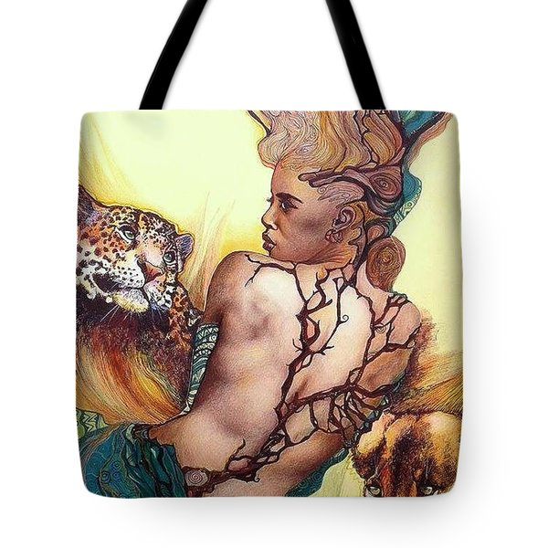 Daughter Of The Wilds Tote Bag