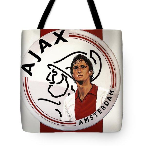 Ajax Amsterdam Painting Tote Bag