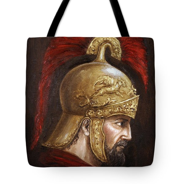 Ajax Tote Bag by Arturas Slapsys