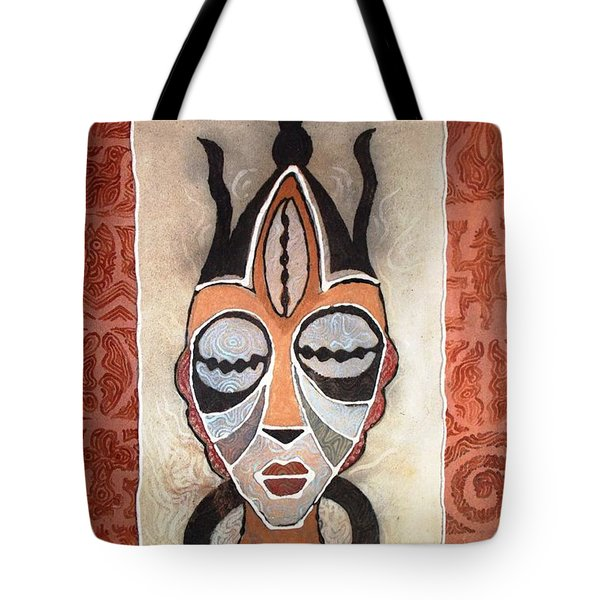 Aje Mask Tote Bag
