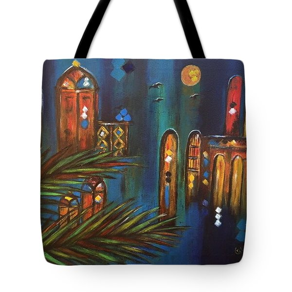 Good Evening Baghdad Tote Bag