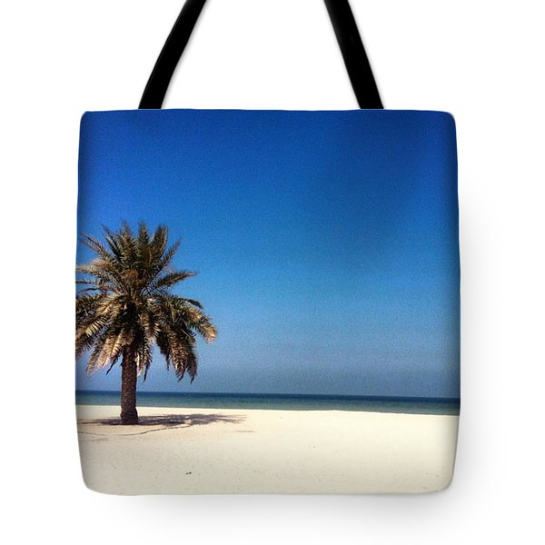 Ajman Beach  Tote Bag