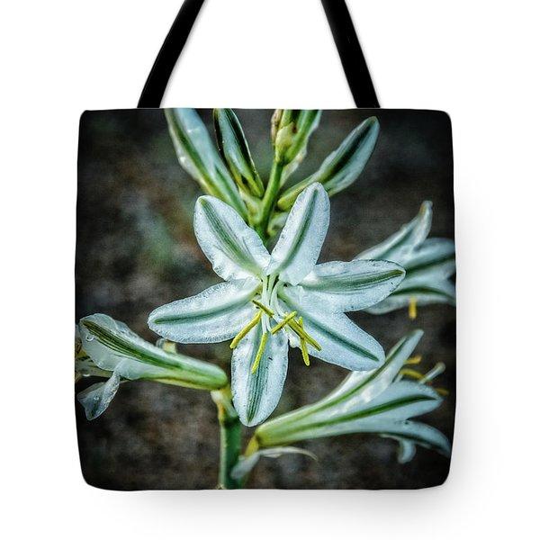 Ajo Desert Lily Tote Bag