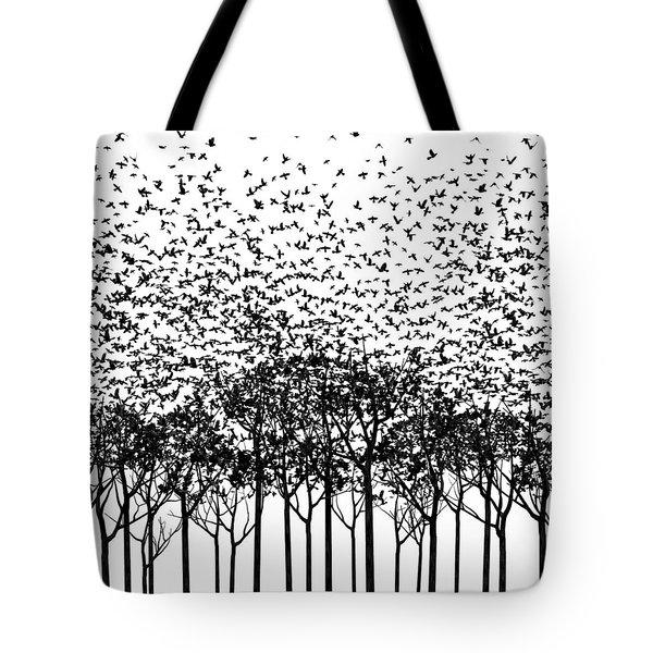 Aki Monochrome Tote Bag