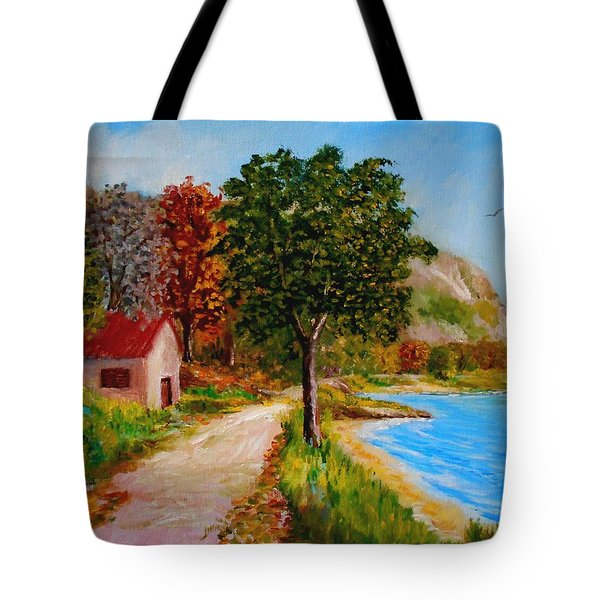 Akronafplia Tote Bag