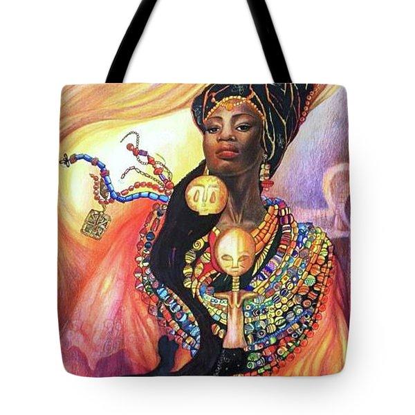 Akuaba Tote Bag