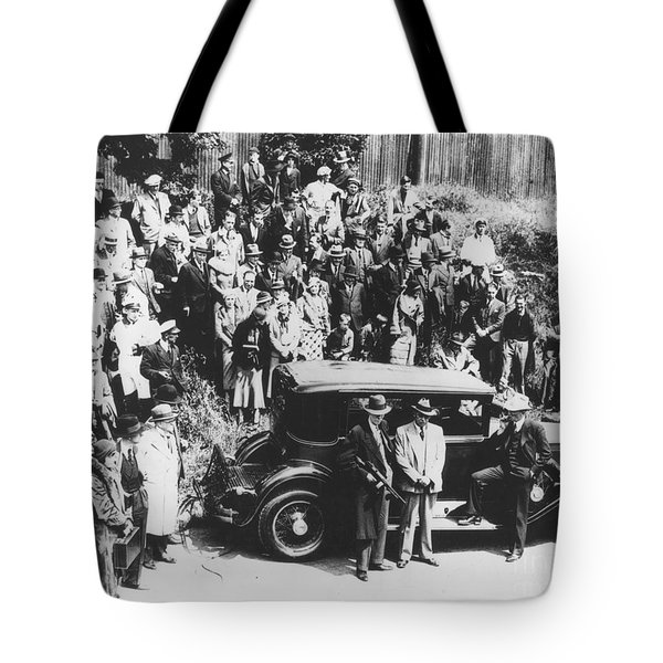 Al Capone (1899-1947) Tote Bag by Granger