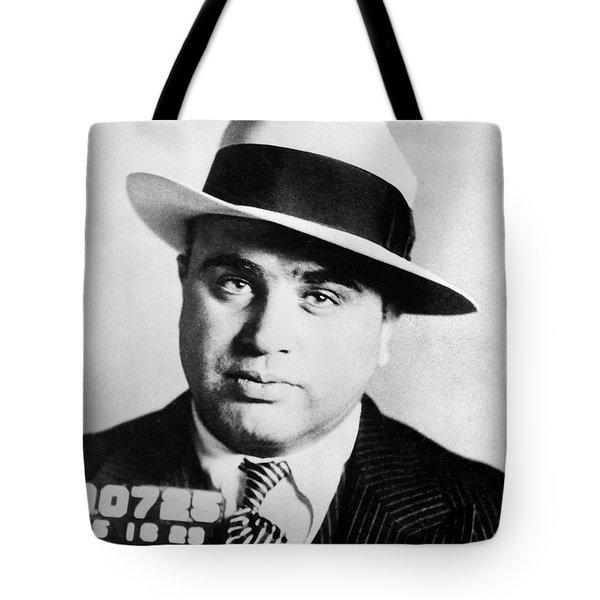 Al Capone Mugsot Tote Bag