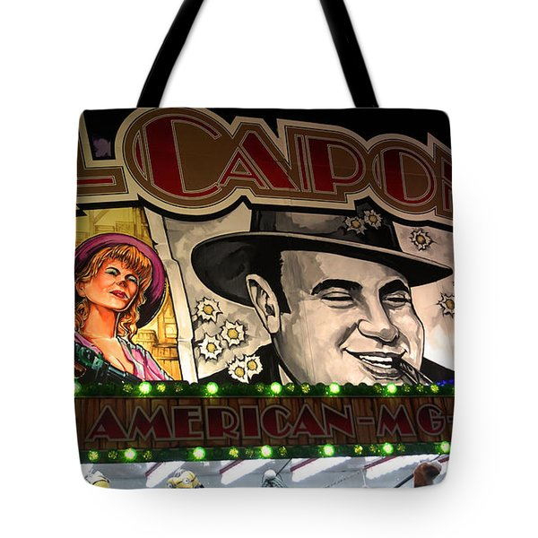 Al Capone On Funfair Tote Bag