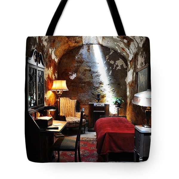 Al Capone's Cell - Eastern State Penitentiary Tote Bag by Bill Cannon