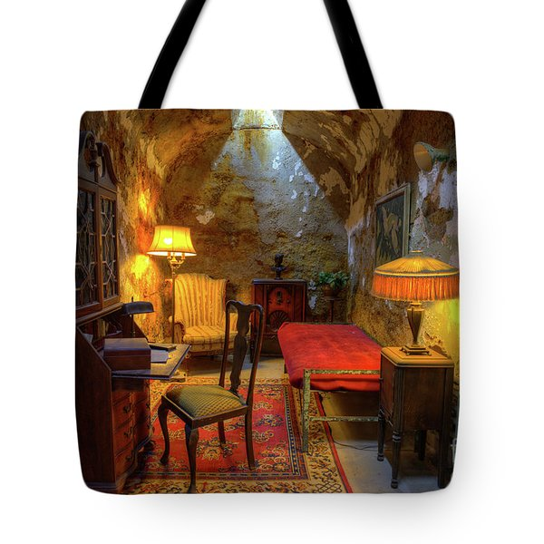 Al Capones Jail Cell Tote Bag