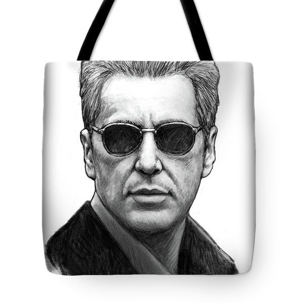 Al Dampier - God Father 3 Art Poster Tote Bag