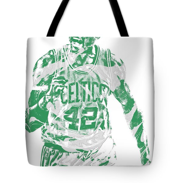 Al Horford Boston Celtics Pixel Art 7 Tote Bag